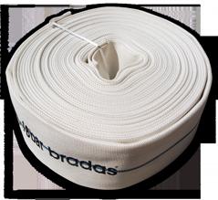 Текстильный напорный рукав плоской намотки 3' (76мм)