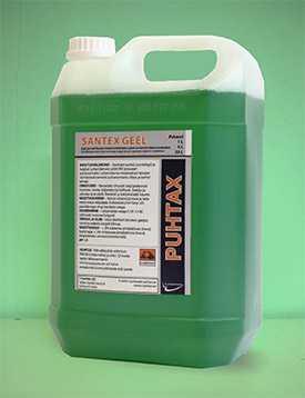 SANTEKS-GEEL гелеобразное средство для удаления накипи и ржавчины 25 л