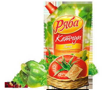 Кетчуп Ряба Лечо, 260 г - НМЖК ОАО (Россия)