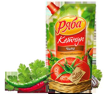 Кетчуп Ряба Чили, 260 г - НМЖК ОАО (Россия)