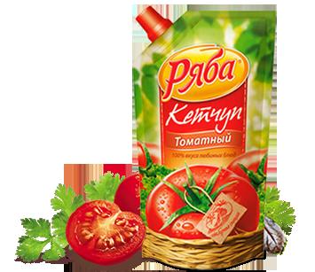 Кетчуп Ряба томатный 260 г - НМЖК ОАО (Россия)