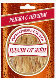Путассу сушенная с перцем, ТМ Вдали от жён, 36 г - НМЖК ОАО (Россия)