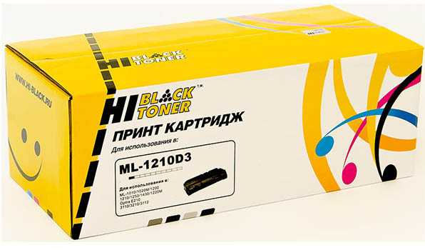 Картридж Samsung ML-1210 / 1250/ Xerox 3110 (Hi-Black) ML1210D3 3K