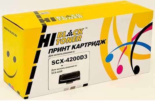 Картридж Samsung SCX-4200 (Hi-Black) SCX-D4200A с чипом 3K