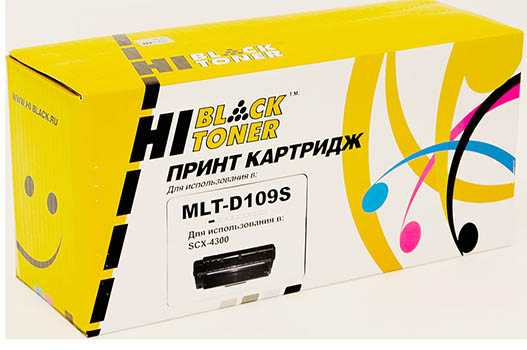 Картридж Samsung SCX-4300 (Hi-Black) MLT-D109S