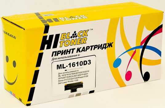 Картридж Samsung ML-1610/ 2010/2015/ Xerox Ph 3117/ 3122/ SCX4521 (Hi-Black) ML1610D3