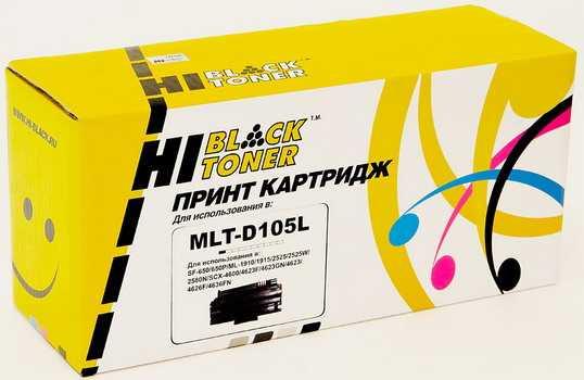 Картридж Samsung ML 1910 / 1915 / 2525 / 2525 / 2580N / SCX4600 (Hi-Black) MLT-105 2.5K