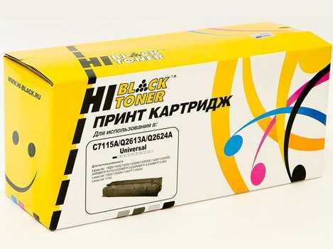 Картридж HP LJ 1200 / 1300 / 1150 (Hi-Black) C7115A/Q2613А/Q2624A универсальный