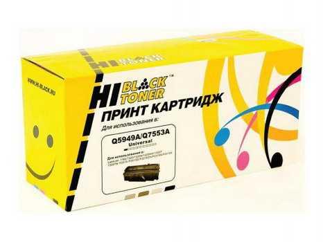 Картридж HP LJ 1160/1320/ P2015/Canon715(Hi-Black) Q5949A/Q7553A унив. 3,5K с чип