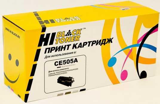 Картридж HP LJ P2055/P2035 (Hi-Black) CE505A 2,3K с чипом