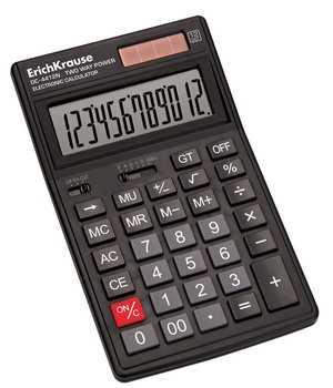 Калькулятор Erich Krause 12-разрядов DC-4412N