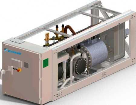 Чиллер без конденсатора Daikin EWLD-J-SS - Daikin Industries Limited