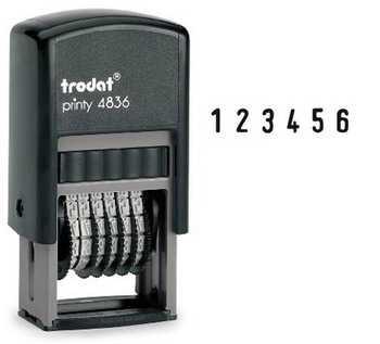 Нумератор Trodat Printy 4836