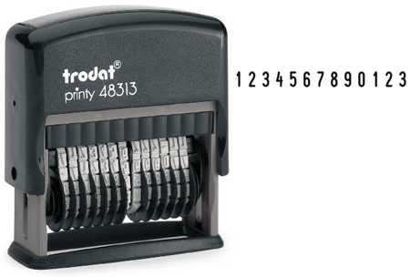 Нумератор Trodat Printy 48313