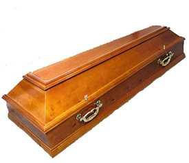Гроб четырехгранный. Ольха.