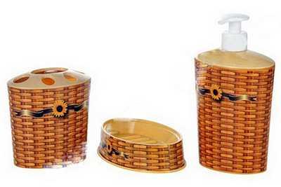 Набор для ванной пластмассовый артикул D046-X01, код 301314