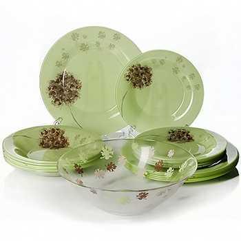 Набор посуды стеклянной Luminarc Stella Amande 45 предметов