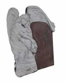 Памятник с ангелом 1080 х 1400 х 140