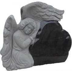 Памятник с ангелом 1150 х 730 х 130