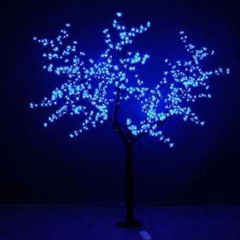 Световое дерево Вишня LED CHERRY TREE 1728 LEDs, цвет свечения синий