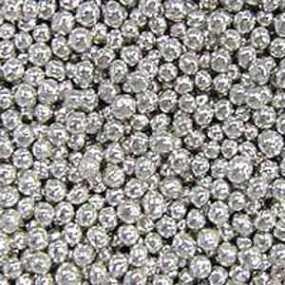 Украшения кондитерские шарики Серебро