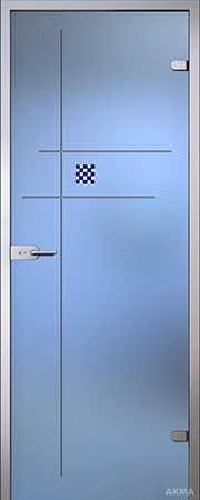 Межкомнатная стеклянная дверь Алегра серия Florid