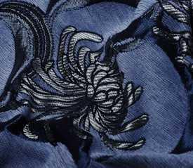 Шенилл Blumen 8 blue