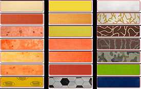 Оболочка для колбас текстильная Viscoflex Мозаика-темножелтая IV/4.5 кг.