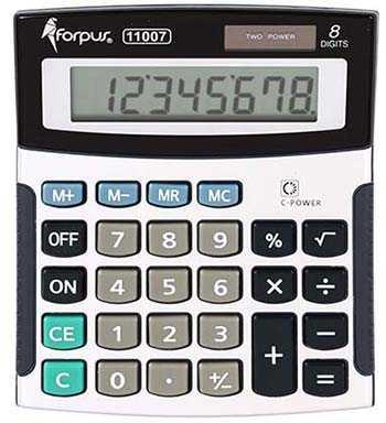 Калькулятор 8-разрядный Forpus FO-11007