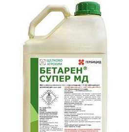 Послевсходовый гербицид Бетарен Супер МД, МКЭ