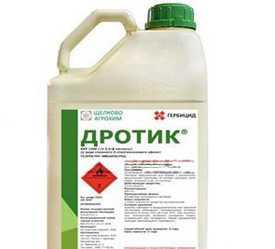 Послевсходовый гербицид Дротик, ККР