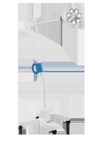 Передвижной светильник медицинский ЭМАЛЕД 200П