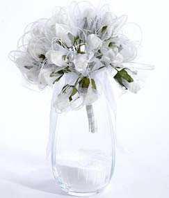 Букет свадебных роз 30 голов