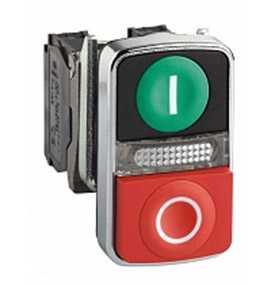 Двойные кнопки с пружинным возвратом