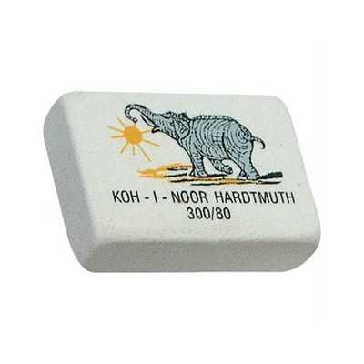 Ластик Koh-I-Noor Elephant 300/80 белый
