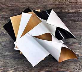 Картон стоковый без покрытия мелованный с 1-й стороны ВКМ - кремовый оборот