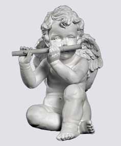 Ангел с дудкой