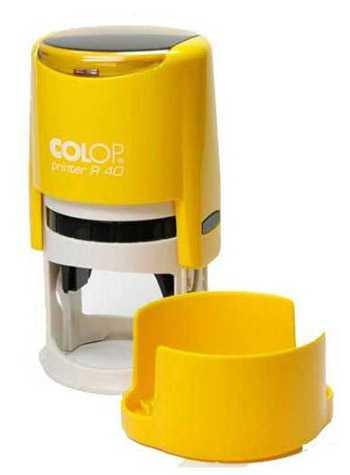 Печать на оснастке Colop R40 Color