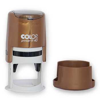 Печать на оснастке Colop R 40 perl