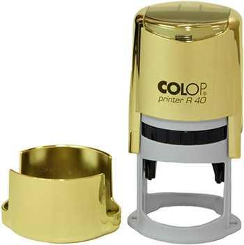Печать на оснастке Colop R40 Gold