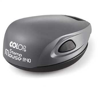 Печать на оснастке Colop Mouse R40