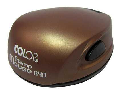 Печать на оснастке Colop Mouse R40 perl