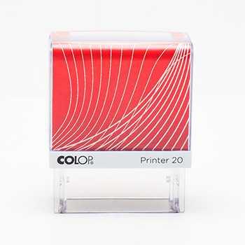 Оснастка для штампа Colop Printer 20 бело-бордовая