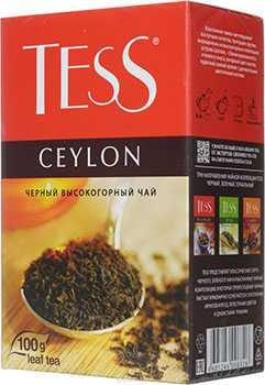Чай Tess Ceylon листовой черный 100г