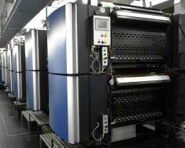 Рулонные машины Solna Bookline для печати книг