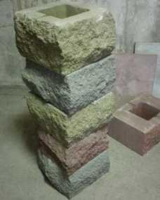 Камень для столбов Бессер