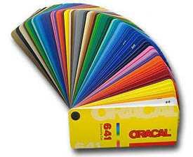 Универсальная плоттерная пленка Oracal 641