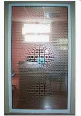 ПВХ пленка с полимерными пластификаторами для декорирования стекла Oracal 8510