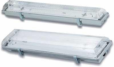 Светильники ЛСП06/09 пылевлагозащищенные потолочные с электронным балластом
