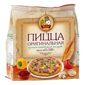 Сухая смесь для пиццы Пицца оригинальная